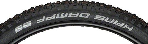 50 Psi Black Tire - SCHWALBE Hans Dampf Addix Folding Addix Soft Super Gravity 67TPI 23-50PSI 1065g Tire, Black, 275