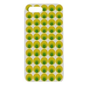 CL - Redonda caso Dots Diseño para el iPhone 5