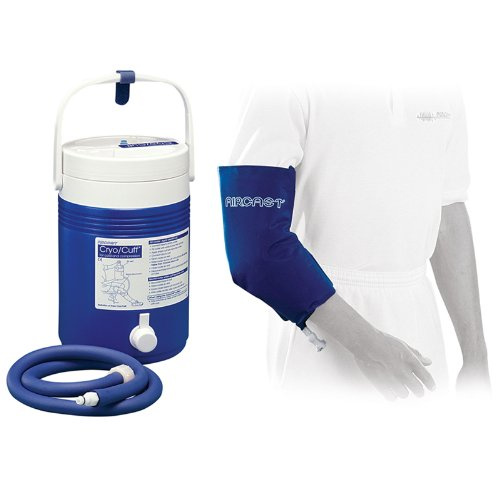 AIRCAST ELBOW Cryo/Cuff Cold Therapy With Non-Motorized (Gravity-Fed) Cooler for Maximum Pain Management! (One size fits most) by Aircast
