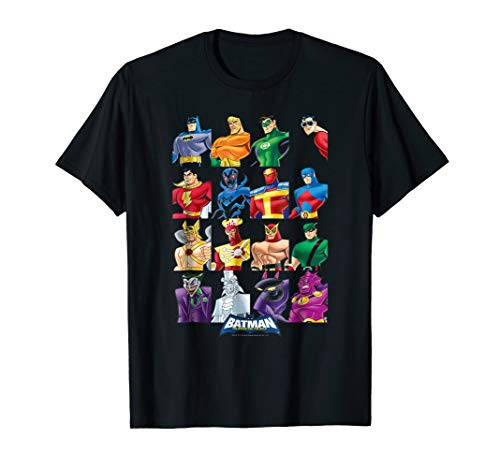Batman: The Brave and the Bold Cast of Characters T Shirt