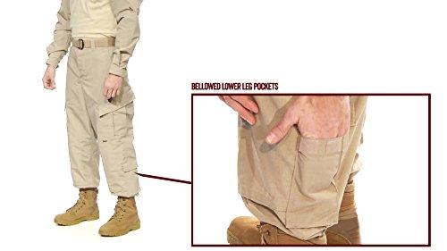 Tru-Spec 1287002respuesta táctica uniforme pantalones, poliéster algodón, XS), regular, color...