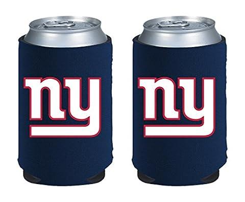 NFL New York Giants Magnetic Kolder Kaddy, 2-Pack, Dark Blue