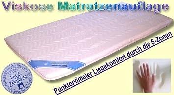 Matratzenauflage 5 Zonas Viscosa visco Espuma Colchón Colchón 140 x 210