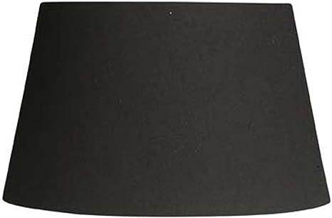 Imagen deOaks Lighting - Pantalla para lámpara (algodón), color negro