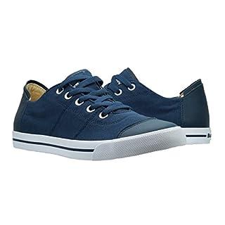 Burnetie Men's Blue Toe Hugger Low Top Sneaker 12 M US