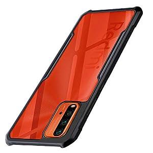 WOW Imagine Shock Proof Clear Back Case Mobile Cover for Xiaomi Mi Redmi 9 Power | Poco M3 (Hard | Hybrid PC + TPU…