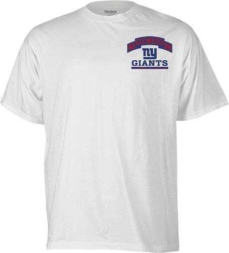 League Champions T-shirt (Reebok New York Giants Super Bowl XLVI Champions Roster T-Shirt Small)