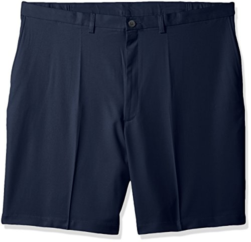 Haggar Mens Big and Tall Cool 18 Pro Classic Fit Stretch Flat Front Short