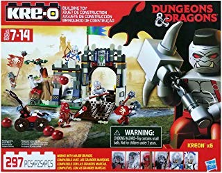 KRE-O Dungeons & Dragons Knight's Fortress Building Block Set with 6 - Knight And Dungeons Dragons