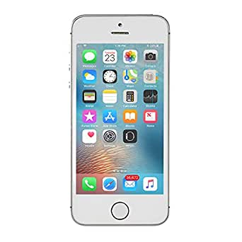 Apple iPhone 5S 16GB GSM Unlocked, Silver (Refurbished)