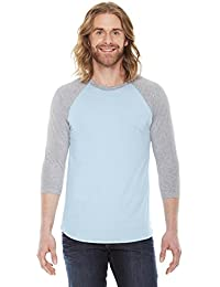 BB453 - Unisex Poly-Cotton 3/4-Sleeve Raglan T-Shirt