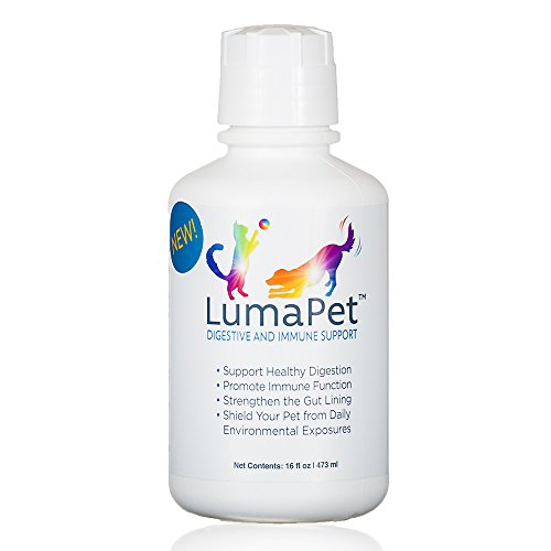 LUMAPET Digestive & Immune Support | Terrahydrite Humic Substances and Mineral Amino Acid Complexes for Healthy Digestion, Gut Lining, Immune Function, Shield from Environmental Factors (16-Ounce)