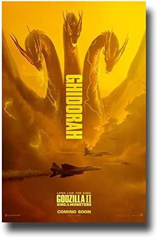 Amazon Com Godzilla Ii Poster Movie Promo 11 X 17 Inches King Of