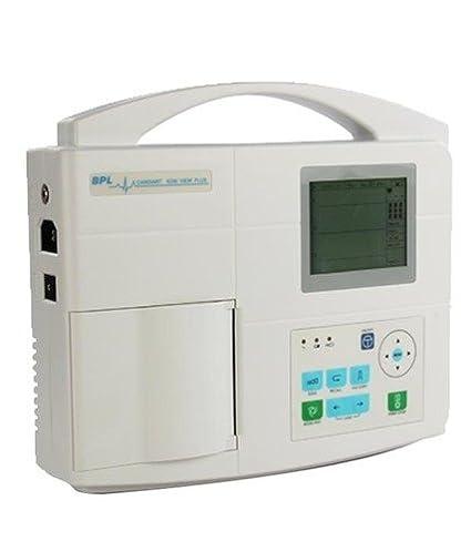 BPL 3 Channel Ecg Machine (White)