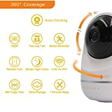 DophiGo 1080P Dome 360 Wireless Baby Monitor Safety Auto Tracking Home Security Surveillance IP Cloud Cam Night Vision Camera
