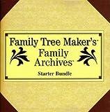 Family Tree Maker Starter Bundle Pc Cd Genealogy Social Security World Family Tree