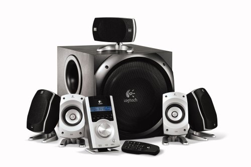 Logitech Z-5500 THX-Certified 5.1 Digital Surround Sound Speaker System by NBC