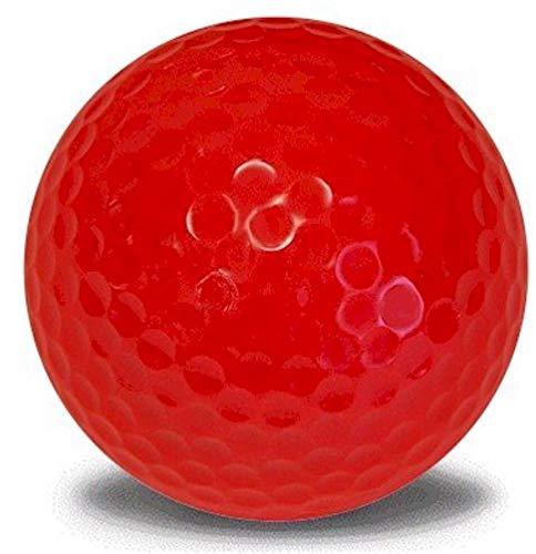 Red Golf Balls 12 Pack