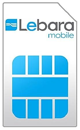 Lebara NL Prepaid - Tarjeta SIM 3 en 1 (4G LTE, Países Bajos ...