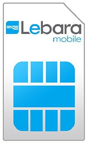 Países Bajos Prepaid Holland de tarjeta SIM de Lebara: Amazon.es ...
