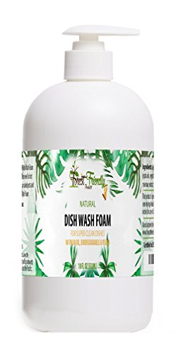 Natural Dish Soap - Natural Dish Washing Detergent - Organic, Biodegradable and Effective