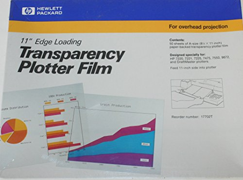 "11"" Edge Loading Transparency Plotter Film"
