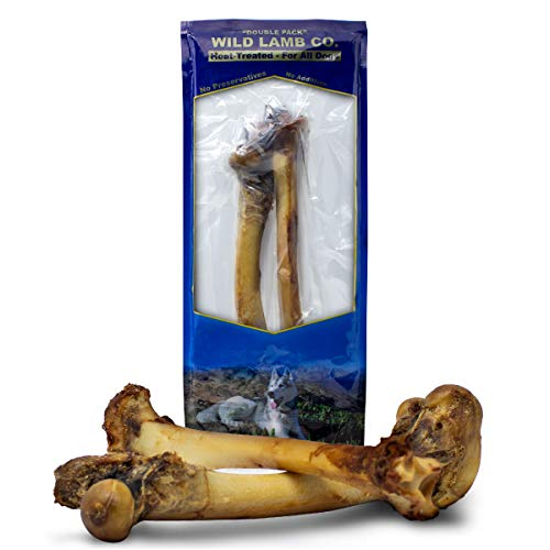 - Pet Excellence Premium Roasted Femur Lamb Bone Meaty Dog Chew (2 Pack) Fresh Natural Gourmet Marrow Dog Treat Chews | Delicious and Tasty Flavor for Dogs
