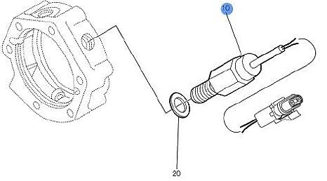 Amazon Com Volvo Truck 8078108 Speed Sensor Kit Automotive
