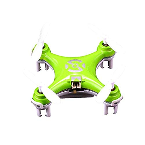 Cheerson CX-10 CX10 Mini Drone 2.4G 4CH 6 Axis LED RC Quadcopter Toy Helicopter with LED Light Toys for Children (Cx Helicopter)