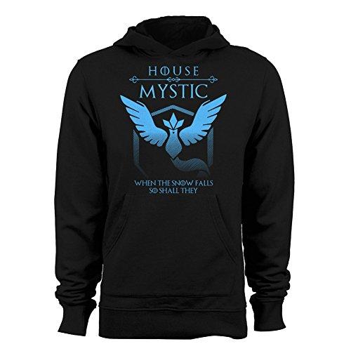 Pokemon Go Hoodies for Men - Team Mystic (Black) - 2