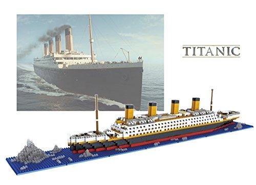 Sanzo Sanzo The Titanic Model Micro Block Build Set
