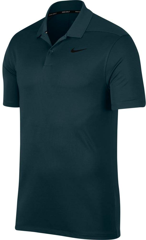 NIKE Men's Solid Dry Victory Golf Polo (Midnight Spruce, XX-Large) by Nike