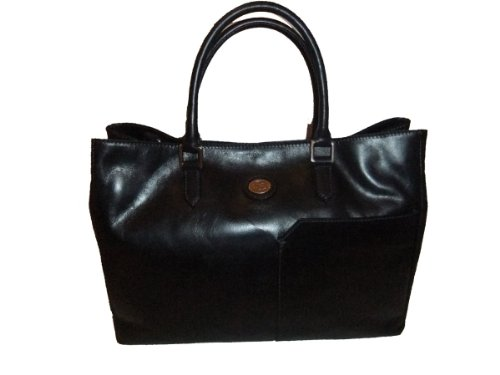 Lo Shopper In Pelle Donna Bridge 047133-01-09 Blu