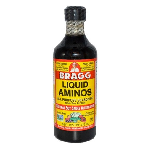 Bragg Amino Protein Concentrate, Liquid, 16 Ounce (Pack of 12)
