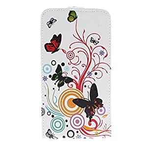 xiao Music Butterfly Flower PU Leather Full Body Case for Samsung Galaxy Note 3
