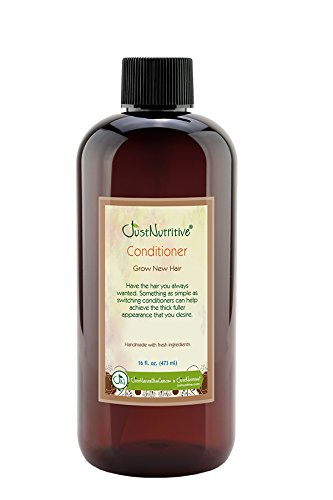 Grow New Hair Conditioner | The Best Conditioner for Your Scalp and Hair | by Just Nutritive