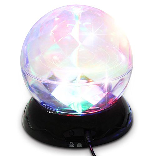 [Star Lighting Lamp Projector - Star Starlight Projector Ceiling - Rotation Night Light Projection Starry Moon Sky Star For Kid Baby Bedroom Bed Lamp - Christmas Gifts by] (4 Star Dragonball Costume Color)