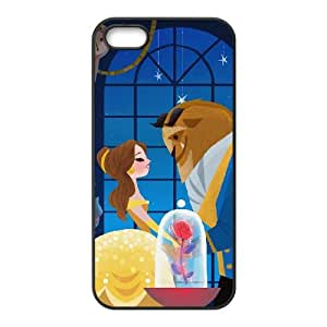 Disneys Beauty And The Beast iPhone5s Cell Phone Case Black WON6189218026980