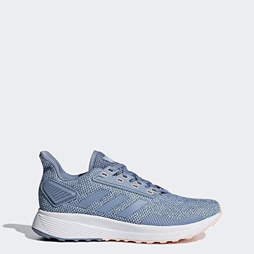 adidas Women's Duramo 9 Running Shoe, raw Grey/raw Grey/ash Grey, 9 M US