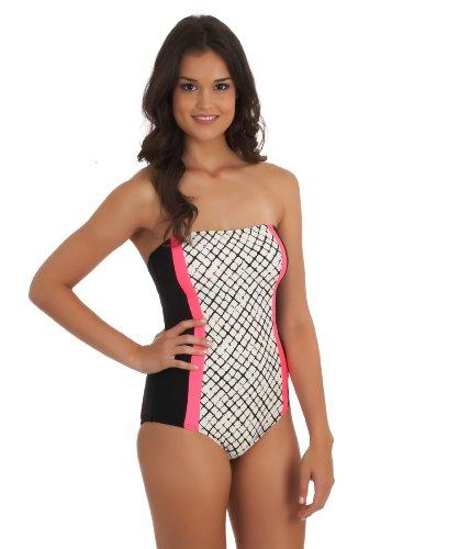 Ella Moss Women's Veranda One Piece Swimsuit, Black, Medium