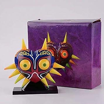 Yvonnezhang 12cm The Legend of Zelda MajoraS Mask Máscara con lámpara de Mesa de luz Figuras de acción de PVC Juguetes Figuras de Anime Juguetes para niños: Amazon.es: Juguetes y juegos