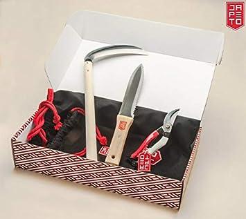 Japeto Ensemble d\'outils de Jardin Japonais (Couteau à truelle ...