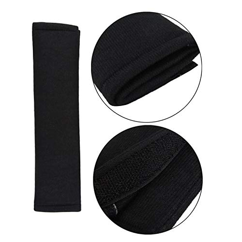 2Pcs Car Comfortable Safety Seat Belt Shoulder Pads Cover Soft Cushion Harness Pad Truck Strap Cover Automotive Accessories
