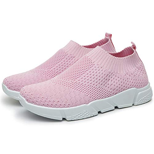 d7a6120459a56 JUSTFASHIONNOW Womens Girls Athletic Walking Shoes Elastic Cloth ...