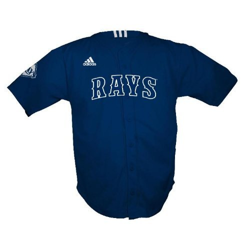 MLB Tampa Bay Devil Rays Toddler Jersey by Adidas (Toddler (2T)) (Devil Tampa Jersey Bay Rays)