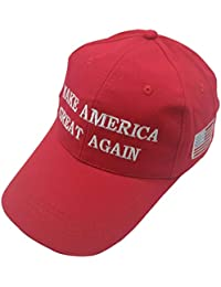 Unisex Make America Great Again Hat, USA MAGA Cap Adjustable Baseball Hats 34f486860e6