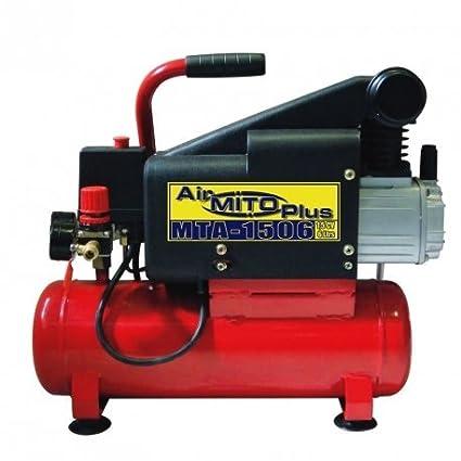 Compresor de aire MITO MTA-1506. 1,5 HP 6 litros. Lubricado