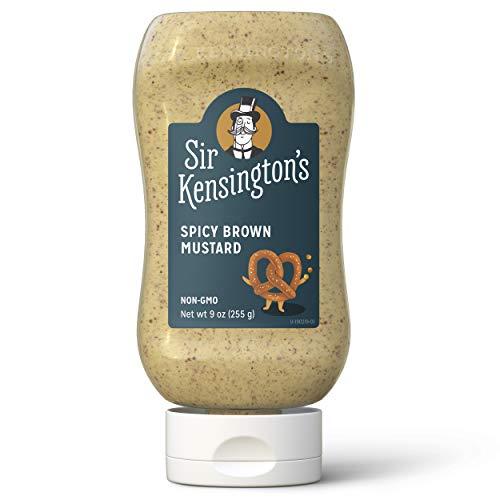 Sir Kensington's  Spicy Brown Mustard 9 oz (Best Spicy Brown Mustard)