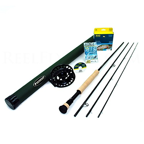 Sage X 790-4 Fly Rod Outfit (9'0, 7wt, 4pc)