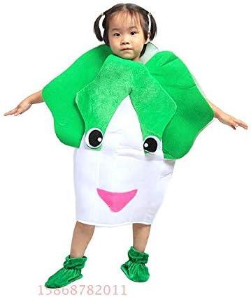 Traje verduras frutas niños Ropa de fiesta de Col verde para niños ...